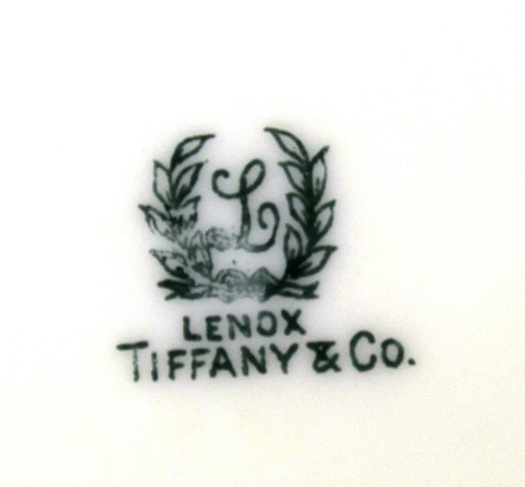 Lenox for Tiffany & Co Partial Dessert Service - 3