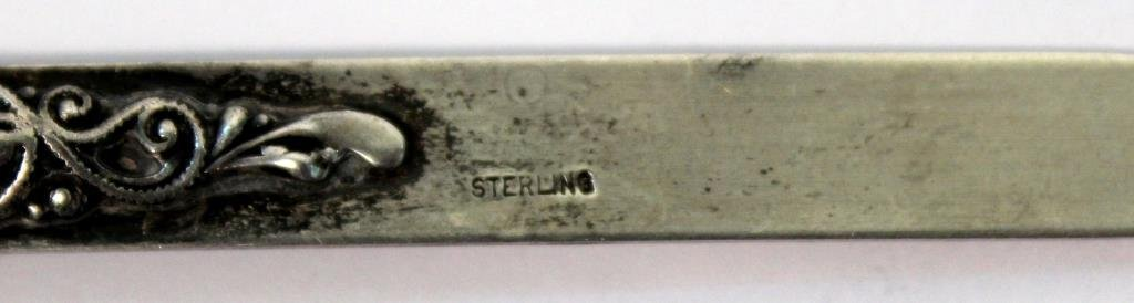 Small Sterling Silver Woman's Letter Opener - 4