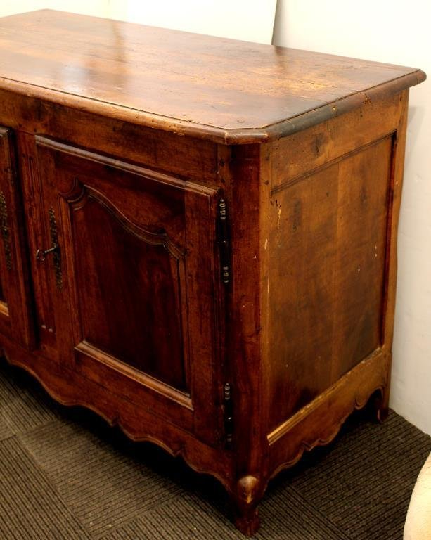 French Provincial Fruitwood Buffet, 19th C. - 2