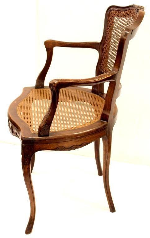 Vintage Louis XV-Style Fauteuil - 2