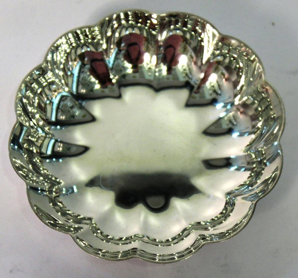 Small Tiffany & Co. Sterling Lobed Bowl - 2