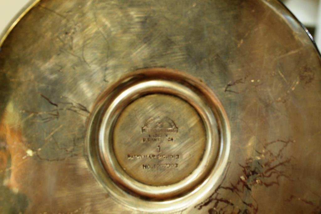 3 Antique Silver-Plate Items - 3