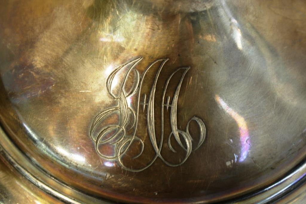 3 Antique Silver-Plate Items - 5