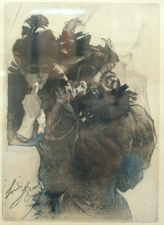 Louis Legrand (French, 1853-1951)- Lithograph