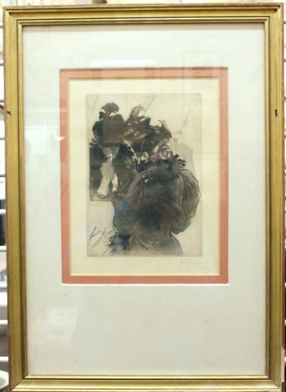 Louis Legrand (French, 1853-1951)- Lithograph - 2