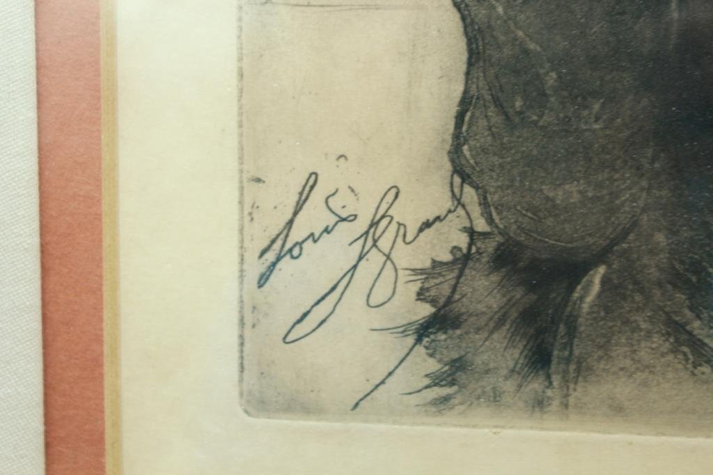 Louis Legrand (French, 1853-1951)- Lithograph - 4