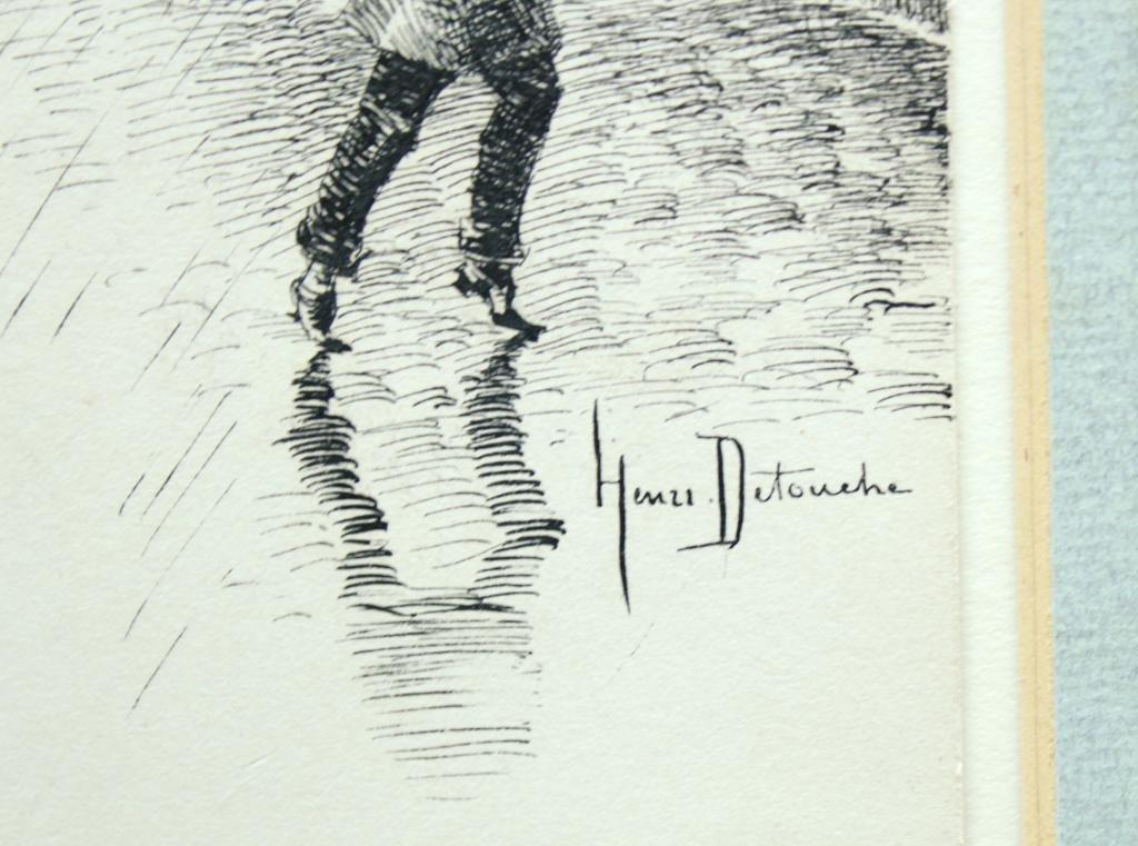 Henri Julien Detouche (French, 1854-1913)- Etching - 3