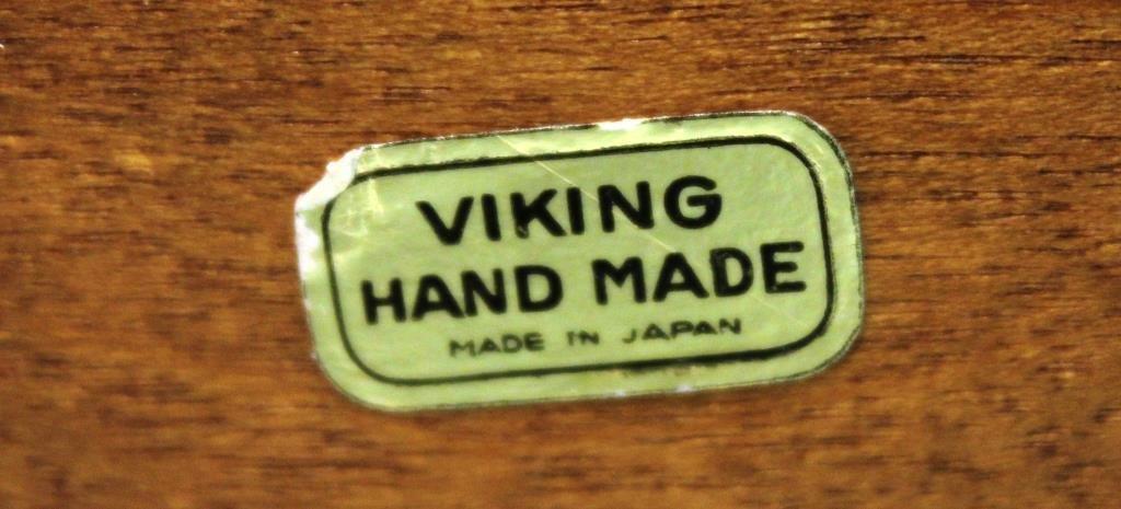 Viking Modernist Bent Plywood Wastebasket - 4