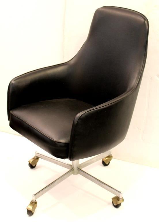 Mid-Century Overman-Style Office Desk Chair