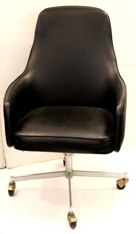 Mid-Century Overman-Style Office Desk Chair - 2