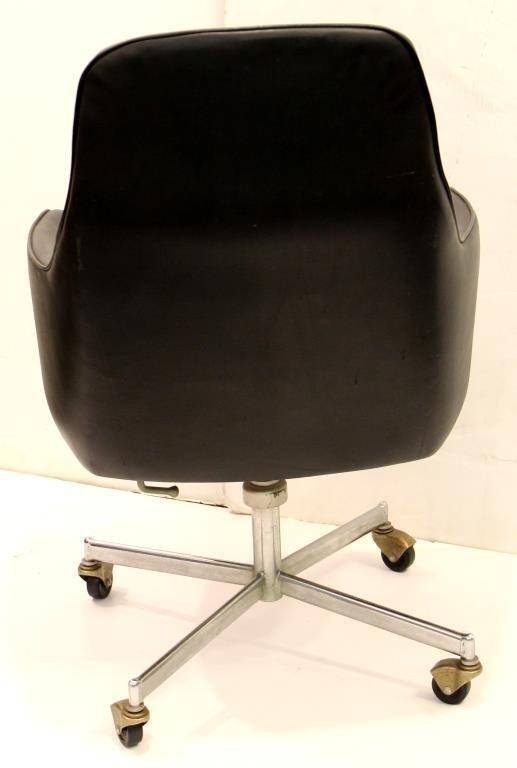 Mid-Century Overman-Style Office Desk Chair - 3