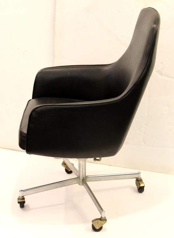 Mid-Century Overman-Style Office Desk Chair - 4