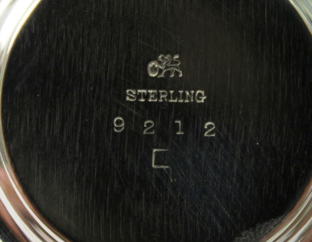 Set of 12 Whiting Sterling Coasters, ca. 1923 - 2