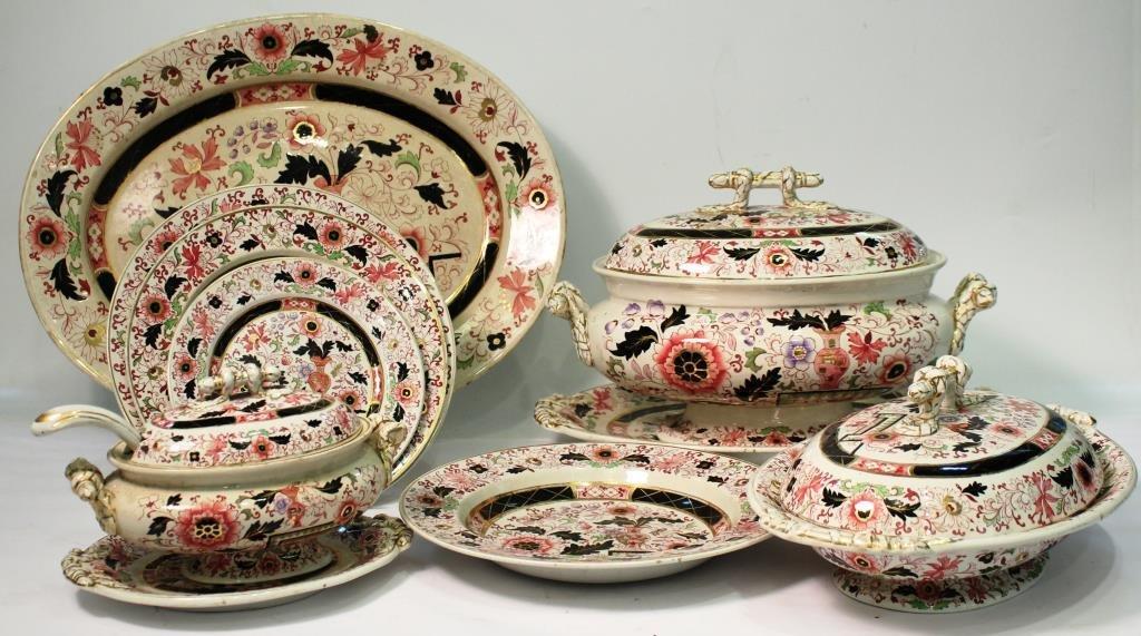 Mason's Ironstone Imari-Style Dishes, ca. 1860 - 3