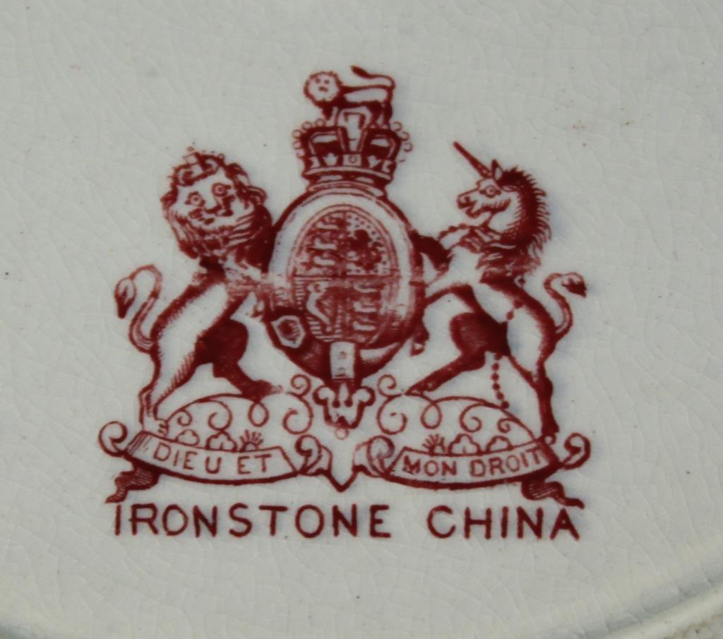 Mason's Ironstone Imari-Style Dishes, ca. 1860 - 4