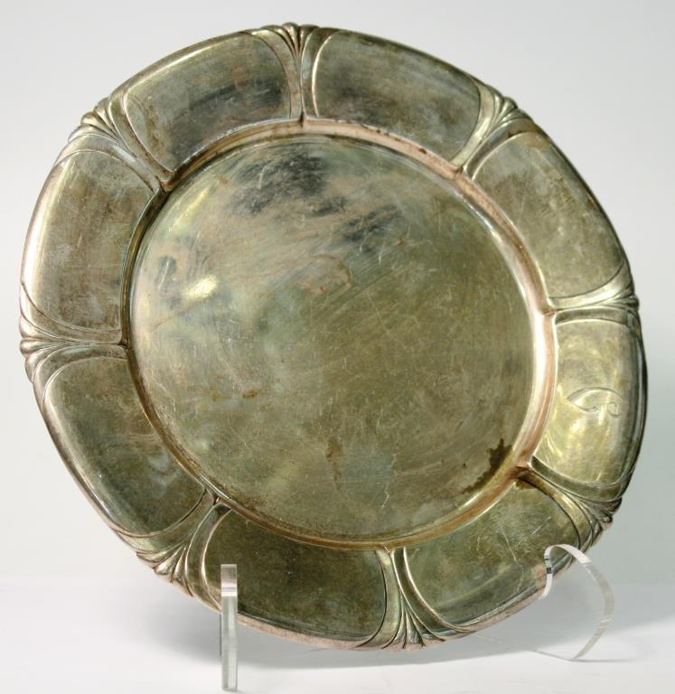 Vintage Gorham Durgin Sterling Silver Tray, 1930