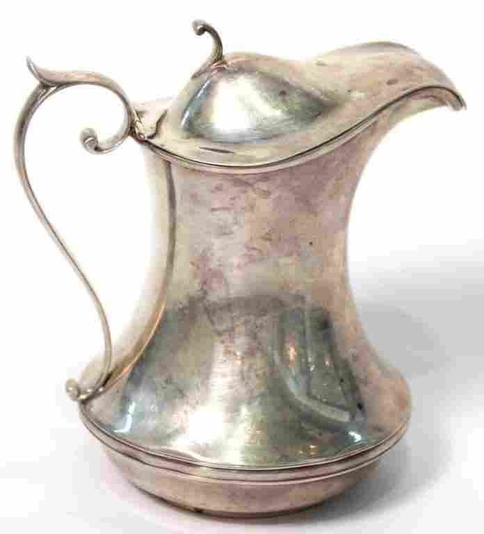 Gorham Sterling Silver Syrup Pitcher, 1917