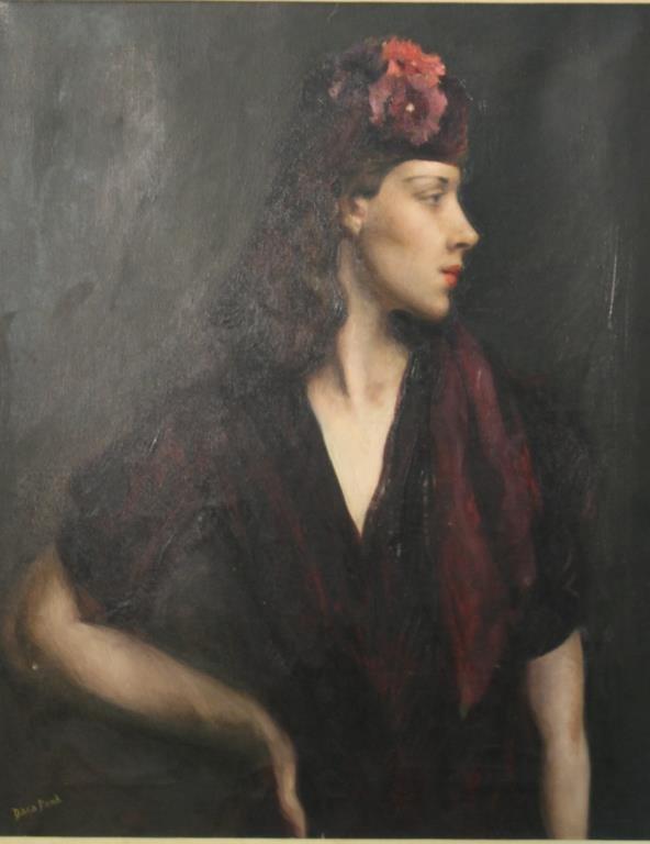 Dana Pond (American,1881-1962) - Oil