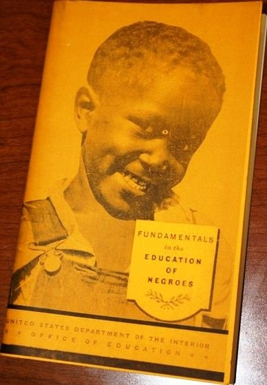 """10: Book """"Fundamentals of the Education of Negroes"""""""