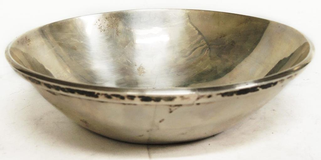 Small Silver Serving Bowl