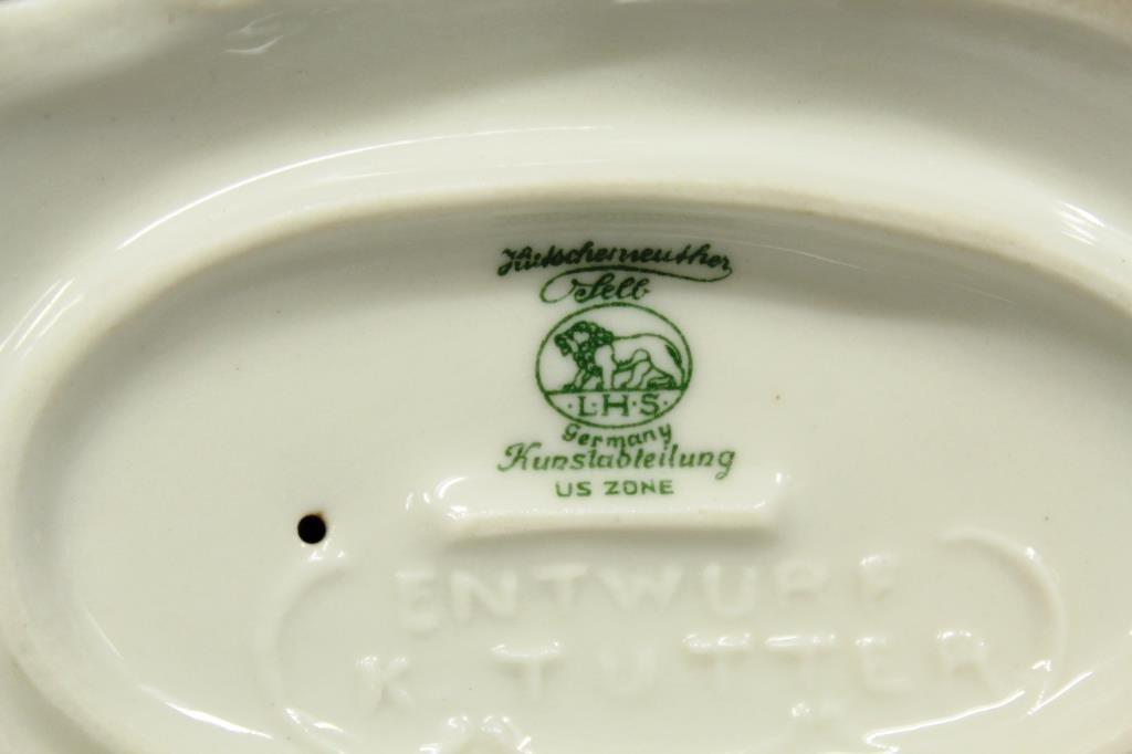 Hutschenreuther Selb Porcelain Golden Pheasant - 3