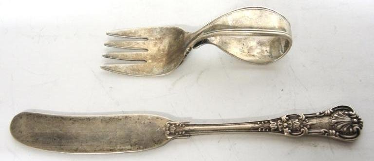 2 Tiffany & Co. Sterling Silver Utensils