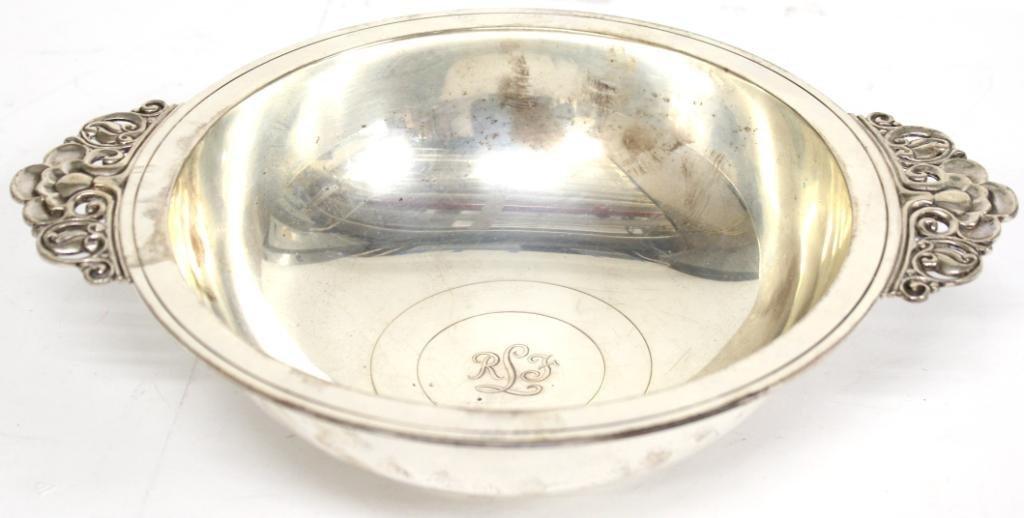 Tiffany & Co. Sterling Handled Porringer