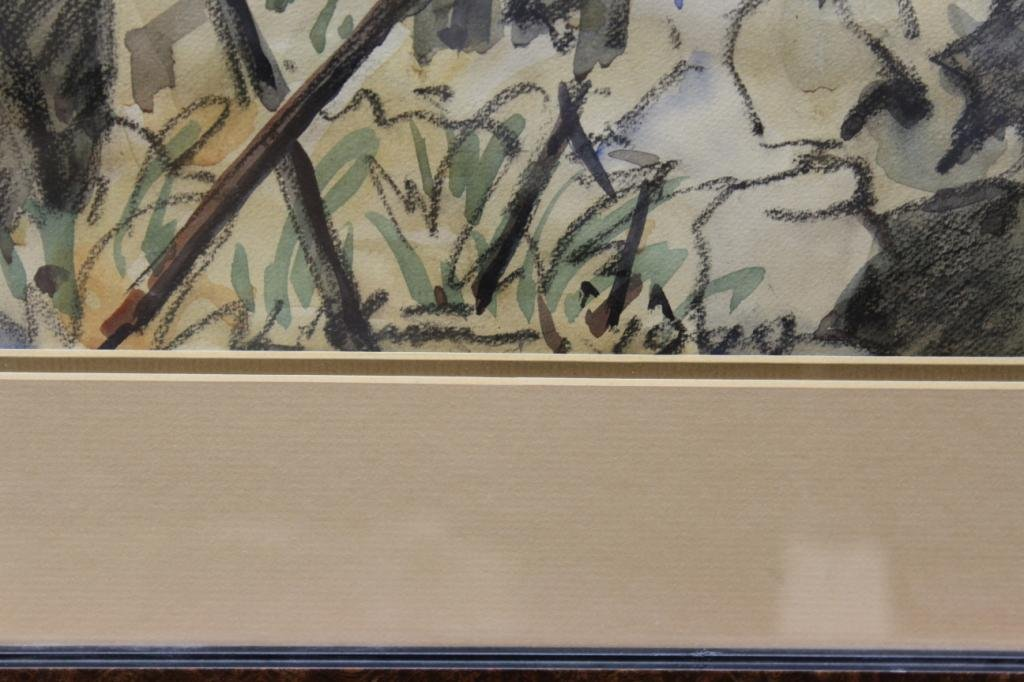 Signed Illegibly (20th Century) - Watercolor - 3