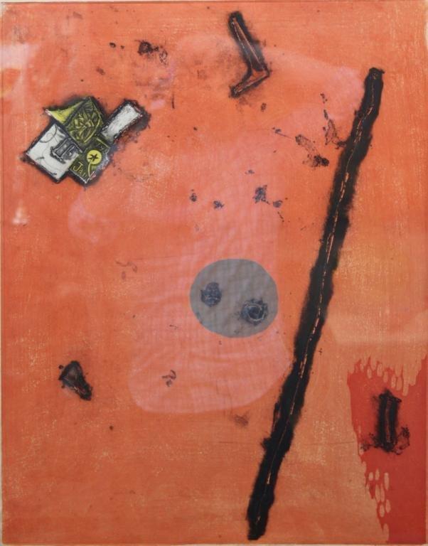 Tokio Miyashita (Japanese,1930-2011) - Woodblock