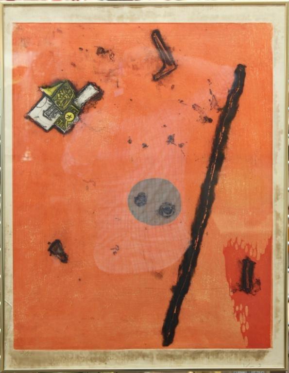 Tokio Miyashita (Japanese,1930-2011) - Woodblock - 2
