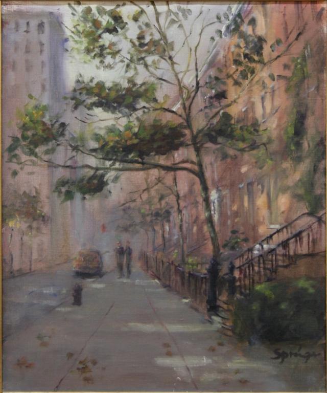 Anthony Springer (American, 1928-1995)- Oil