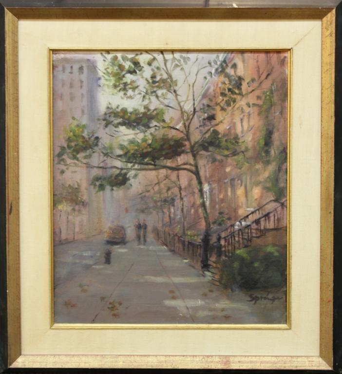 Anthony Springer (American, 1928-1995)- Oil - 2