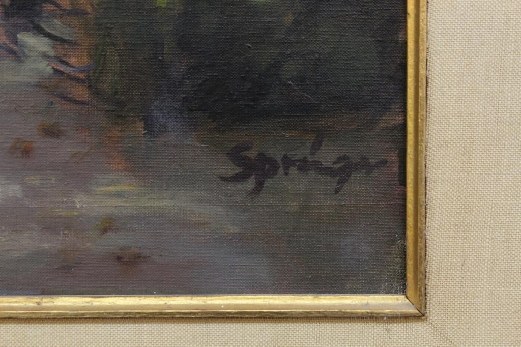 Anthony Springer (American, 1928-1995)- Oil - 3