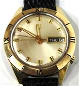 Bulova Accutron Vintage 14K Yellow Gold Watch