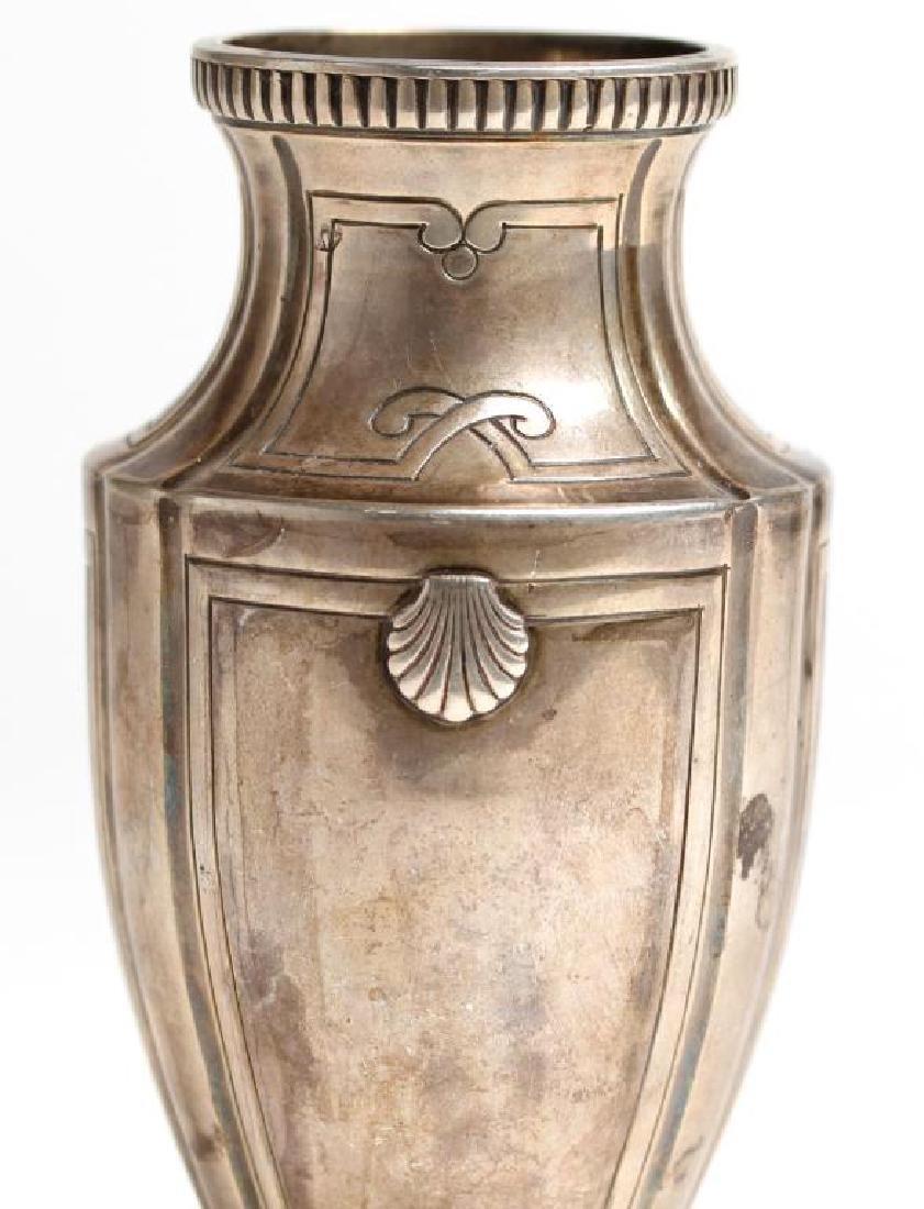 French Sterling Silver Trophy Vase, 1922 - 2