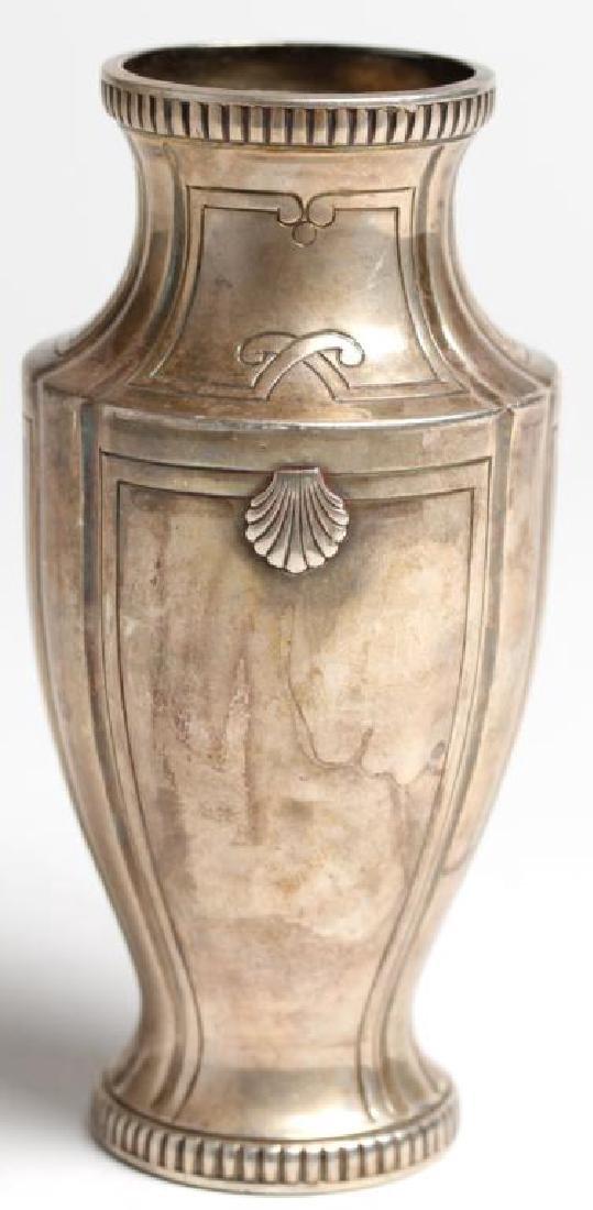 French Sterling Silver Trophy Vase, 1922 - 3