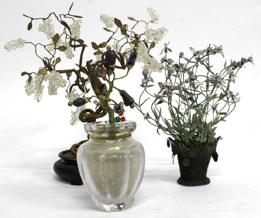 3 Small Tabletop Trees - 2