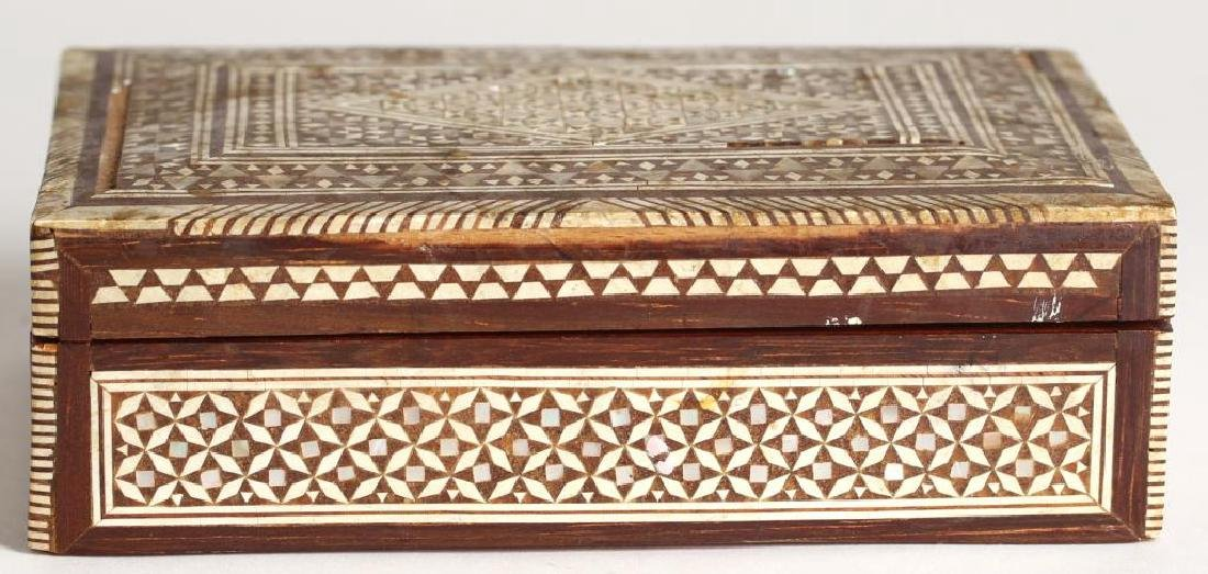 Vintage Syrian Marquetry Inlay Box