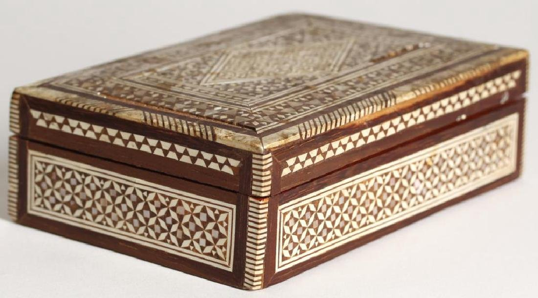Vintage Syrian Marquetry Inlay Box - 2