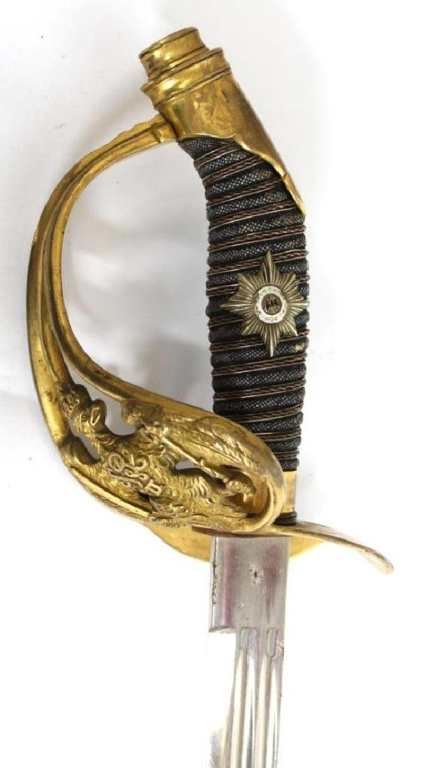 Prussian Cavalry Officer's Sword, Model 1889