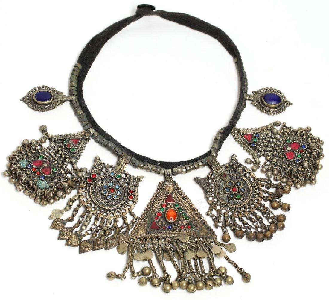 North African Tribal Pendant Necklace