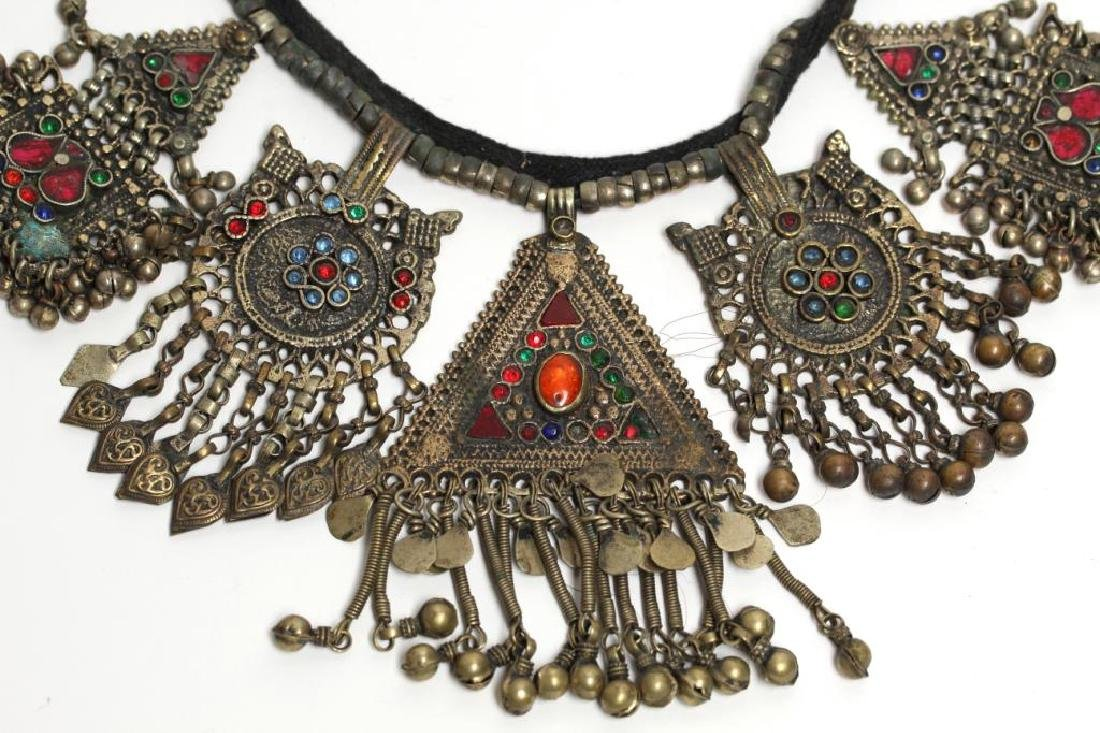 North African Tribal Pendant Necklace - 2