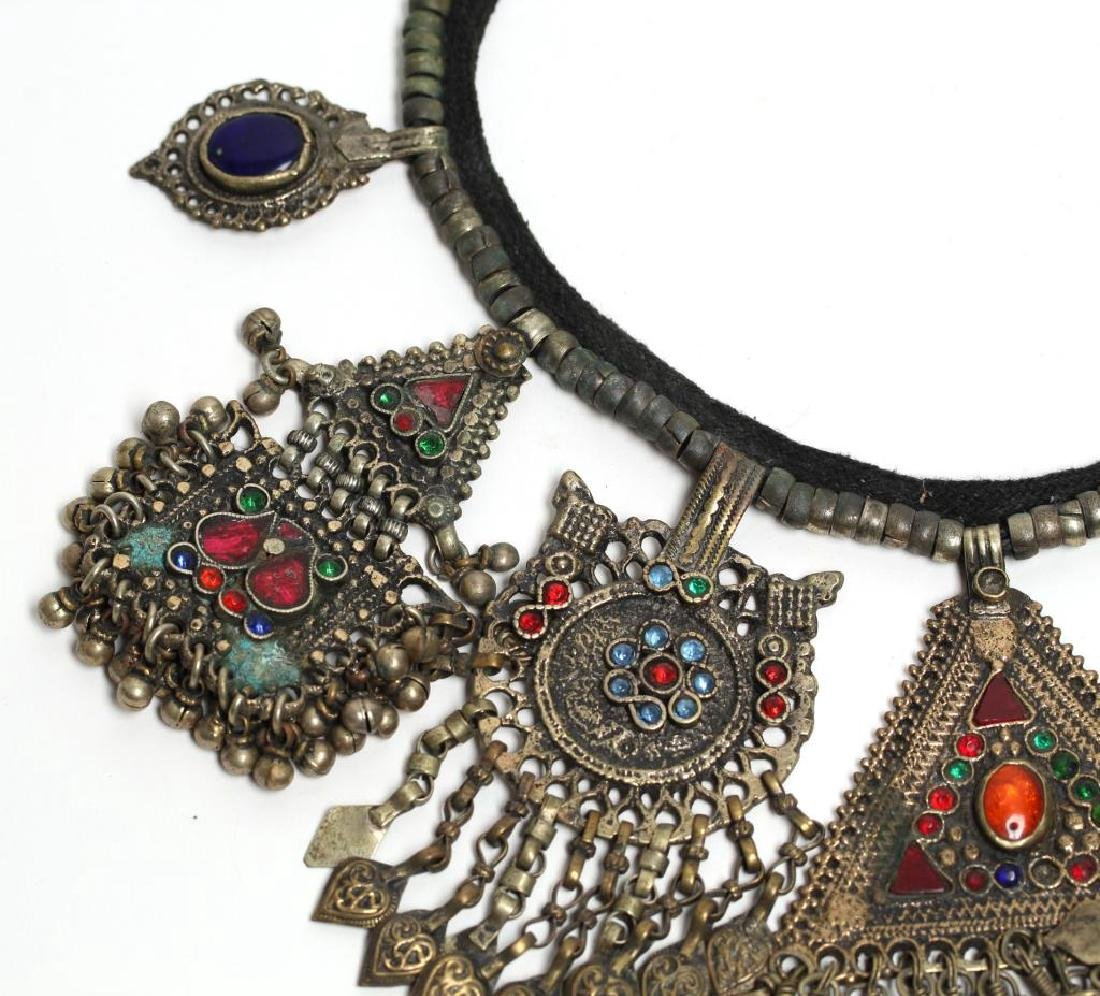 North African Tribal Pendant Necklace - 3