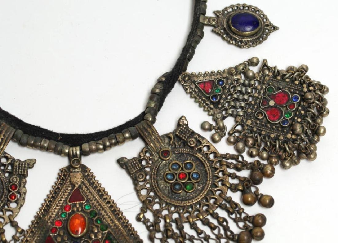 North African Tribal Pendant Necklace - 4