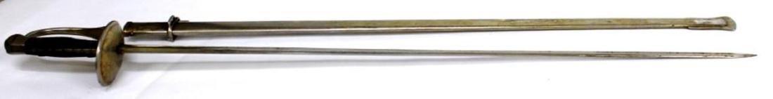 Antique Spanish-Made Cavalry Sword & Sheath - 4