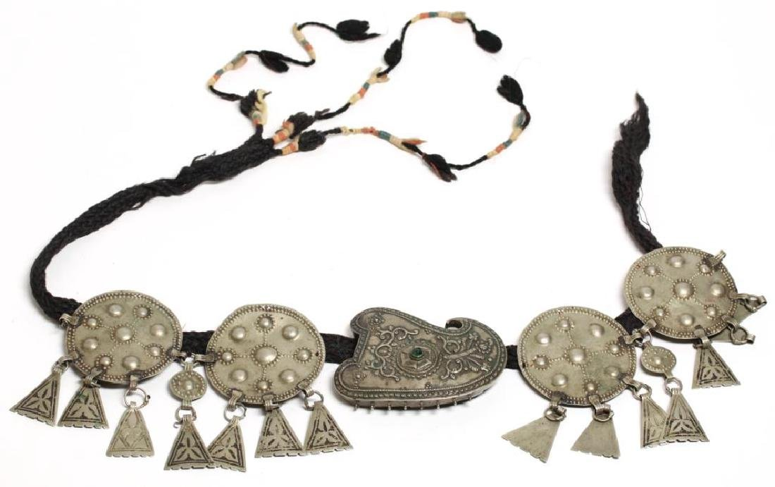 Tribal Middle Eastern Metal Belt