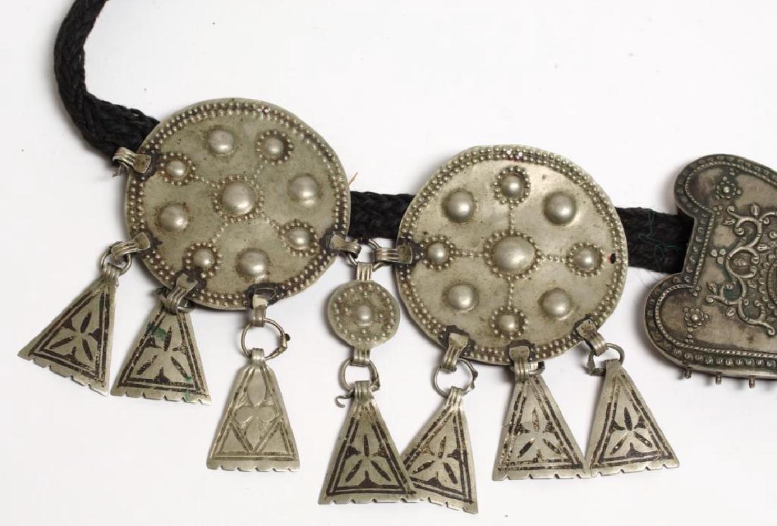 Tribal Middle Eastern Metal Belt - 3