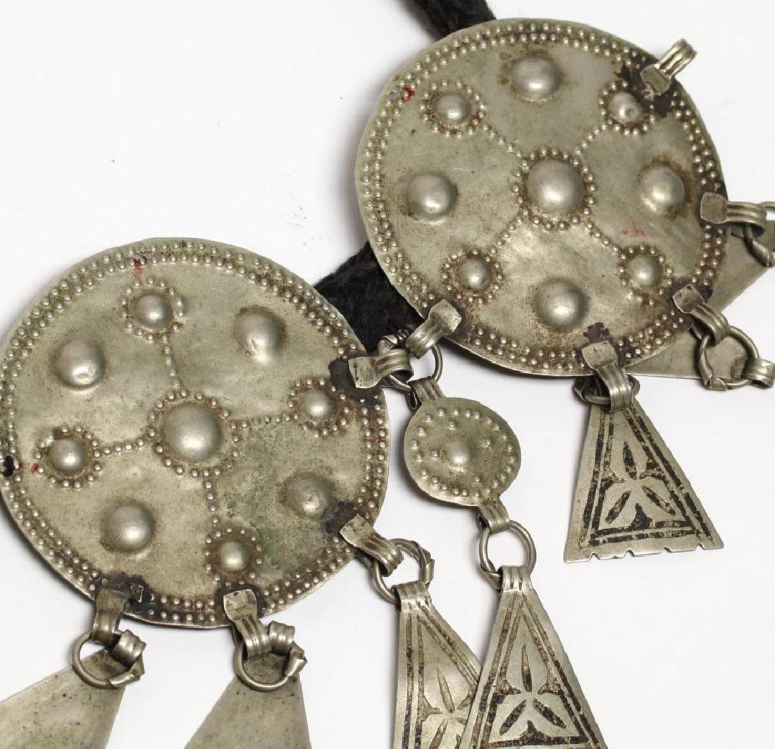 Tribal Middle Eastern Metal Belt - 4