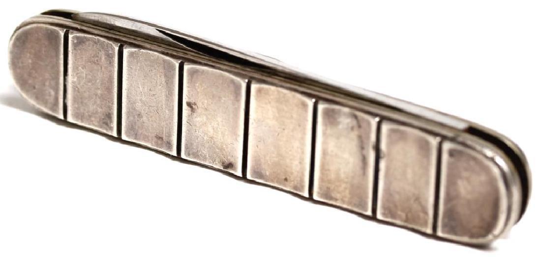 Rare Georg Jensen Wendel Sterling Silver Pocket Knife - 2
