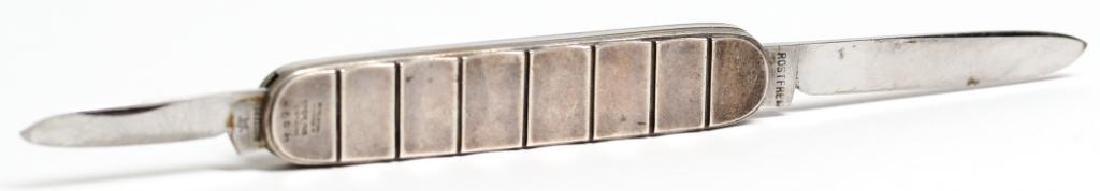 Rare Georg Jensen Wendel Sterling Silver Pocket Knife - 3